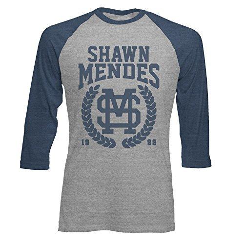 SHAWN MENDES - Kranz - offiziell Herren Raglan 3/4 T-Shirt Hemd
