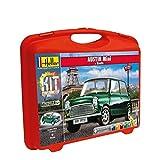 Heller - 60153 - Maquette De Voiture - Austin Mini & Route - Petite Mallette - 52