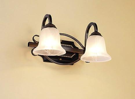 Deed fanale a specchio lampada da tavolo in ferro stile europeo