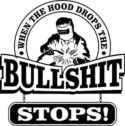 Amazon com: 4 pieces SET   Welder Bullshit Stops   Hard Hat