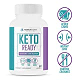 Cheap Keto Ready – Max Strength Keto Carb Blocker 1200mg – Burn Fat & Block Carb Absorption – Minimize Cheat Meals & Maintain Ketosis – White Kidney Bean Extract – for Men & Women – Made in USA – 60 Capsule