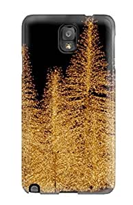 High Grade BenjaminHrez Flexible Tpu Case For Galaxy Note 3 - Holiday Christmas