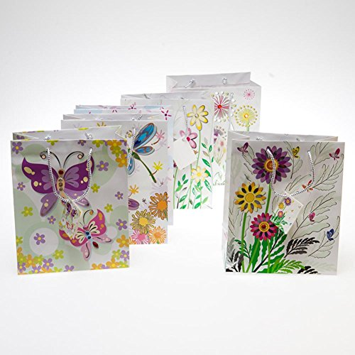 Medium Flowers and Jewels Gift (Floral Medium Gift Bag)