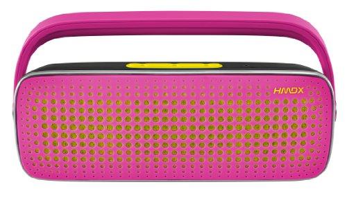 HMDX HX-P450PK HoMedics Blast Bluetooth Boom Box (Pink)