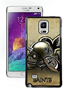 WOSN New Orleans Saints 14 Black Case Cover for Samsung Galaxy Note4
