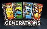 Pokemon Generations 36 Booster Packs +1 Plasma Blast Booster Pack Bundle