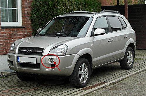 AupTech Hyundai Tucson 2005 - 2009 luces de conducción diurna LED DRL luz diurna del coche (1 par): Amazon.es: Coche y moto