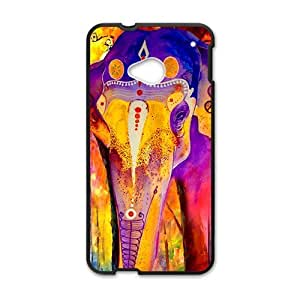 Colorful elephant Cell Phone Case for HTC One M7