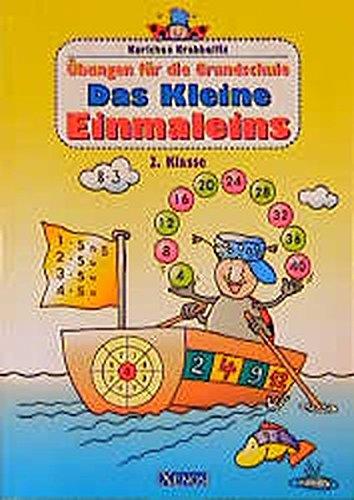 Karlchen Krabbelfix, Übungen für die Grundschule, Das kleine Einmaleins, 2. Klasse