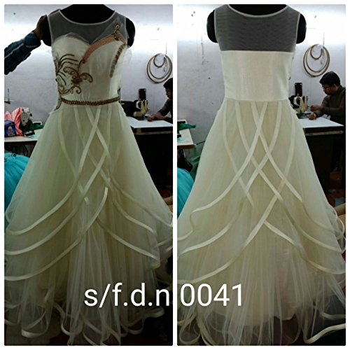 Designer White Gown Dress Maßanfertigung Custom to Measure Europe ...