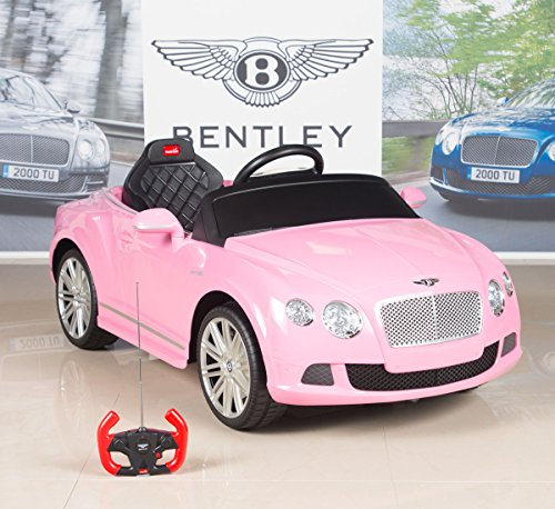 Bentley-GTC-12V-Kids-Ride-On-Battery-Powered-Wheels-Car-with-RC-Remote-and-Floor-Mat-Pink