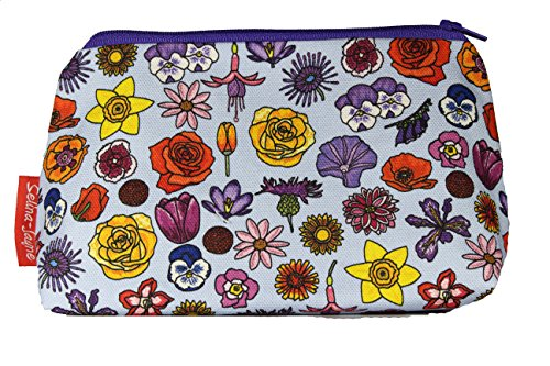 (Selina-Jayne English Flowers Limited Edition Designer Toiletry Bag)