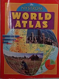 Nystrom World Map.Amazon Com Nystrom World Atlas 2006 9780782510768 Unknown Books