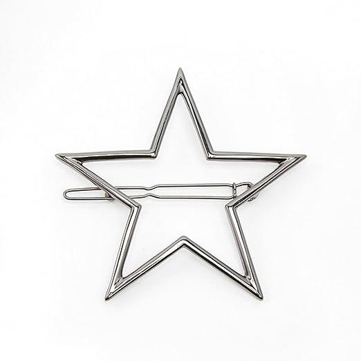 Mädchen Aushöhlen Star Quaste Haarnadel Fünf-Sterne-Haarspange Haarnadeln