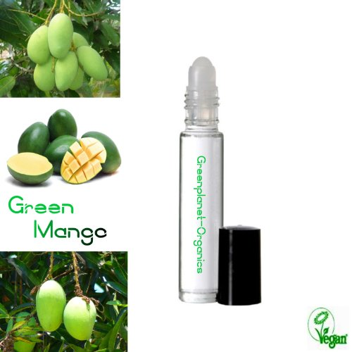 2 Pack Green Mango Scented Oil (.33oz - Roll Perfume 0.33 Ounce