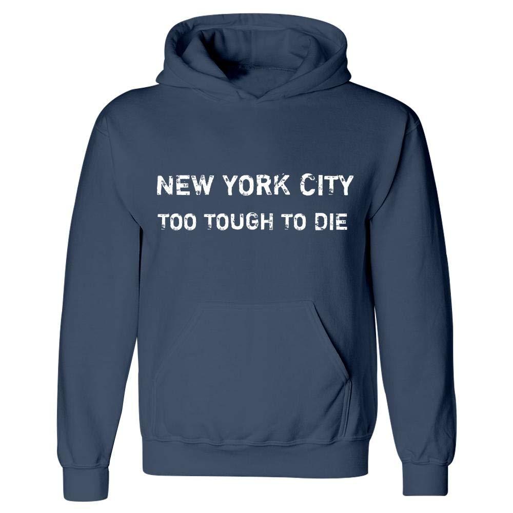 Hoodie Navy New York City Too Tough to Die