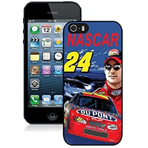 DIY iPhone 5s Case Design with Jeff Gordon Cell Phone Case for Iphone 5 5s Generation in Black