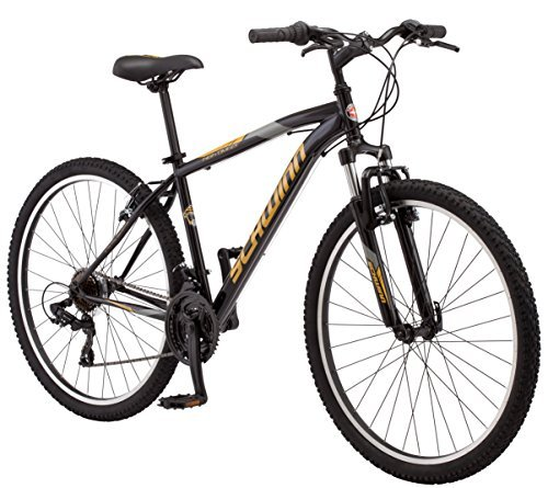 "Schwinn Men's High Timber Mountain Bicycle, 18""/Medium, Black -  S3029B"