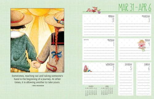 Mary Engelbreit 2014 Weekly Planner Calendar: Keep Good Company