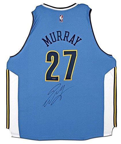 b4ce7204a106 Amazon.com  JAMAL MURRAY Autographed Denver Nuggets Adidas Swingman Jersey  UDA  Sports Collectibles