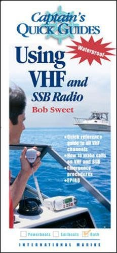 Price comparison product image Captain's QuickGuides: Using VHF and SSB Radios