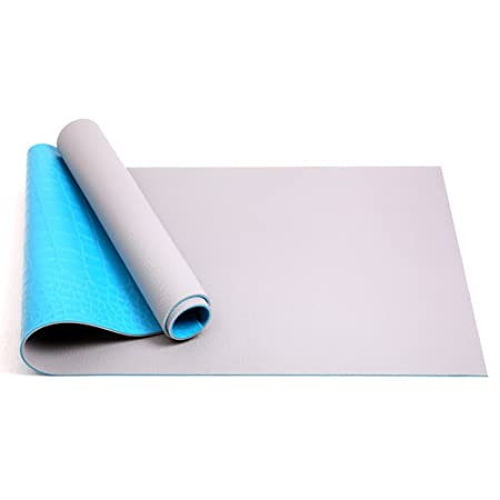 LQBDJYJD Esterilla de Yoga, 6 mm, Multifuncional, PVC ...