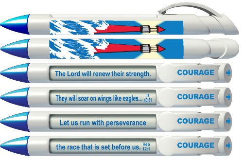 Greeting Pen Scripture Rotating 36038