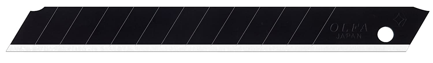 OLFA 9149 ABB-50B 9mm UltraSharp Black Snap-Off Blade, 50-Pack