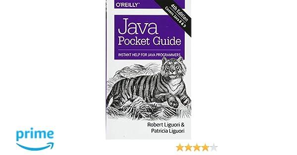 java pocket guide instant help for java programmers robert liguori rh amazon com Kindle Fire Apps for Android Pocket Desktop App