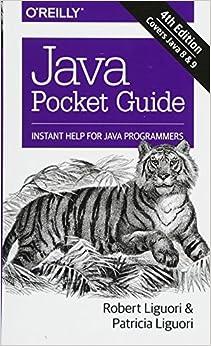 Java Pocket Guide, 4e por Patricia Liguori epub