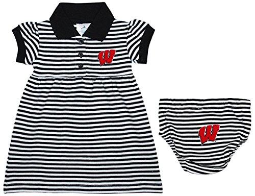 dd24d19ab Jual Creative Knitwear University of Wisconsin Flying W Striped Polo ...