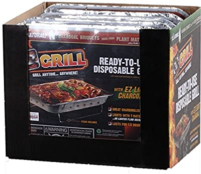 EZ Grill 2531 Portable Disposable Instant Barbeque by EZ Grill