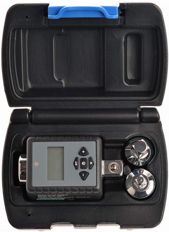 Carrfan Llave Dinamom/étrica Digital Ajustable para Reparaci/ón de Autom/óviles Bicicleta 1//4 3//8 1//2 3//4 Drive Microtorque