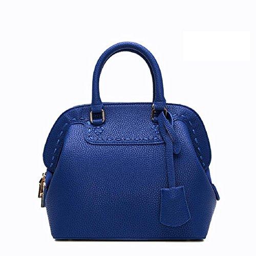 Z&N mujeres cáscara bolso bolso hombro bolso mensajero bolso recorrido bolso ocasional conveniente para fechar boda bolso incorporado teléfono móvil bolso documento bolsillo cremalleraRoyal blue8L Royal blue
