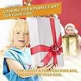 KIZZYEA Punching Bag for Kids, Boxing Set Includes