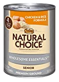NATURAL CHOICE Senior Chicken and Rice Formula Cans, 12. 5 oz.