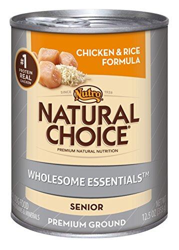 NATURAL CHOICE Senior Chicken and Rice Formula Cans, 12. 5 oz.