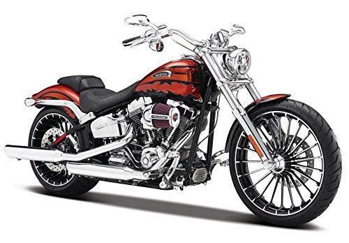 Harley Bikes (Maisuto Maisto 1/12 Harley Davidson Harley Davidson 2014 CVO BREAKOUT Motorcycle motorcycle bike Bike Model 32327 breakout Red [parallel import goods])