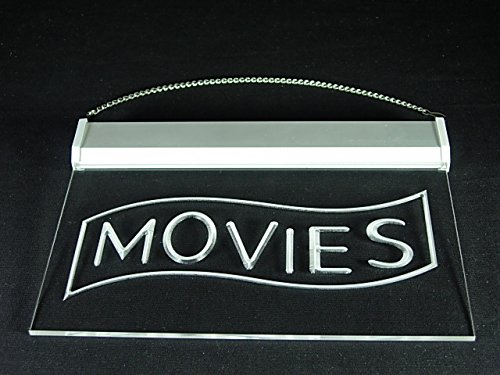 Movies Home Theater Night Cinema Showing Led Light Sign