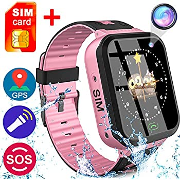Amazon.com: Waterproof Smart Watch Phone for Kids - IP67 ...