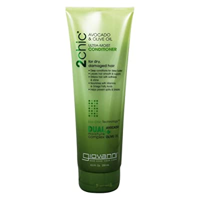 2 Packs of Giovanni 2Chic Avocado And Olive Oil Conditioner