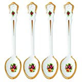 Royal Albert Old Country Roses Spoon (Set of 4), 5.9