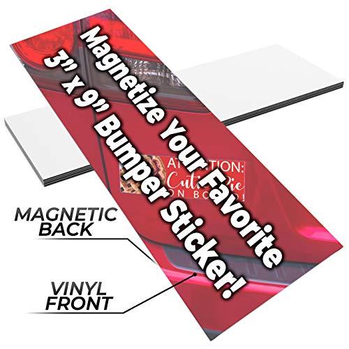 Magnetic Bumper Sticker Holder - 6
