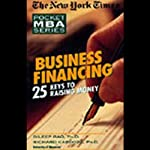 The New York Times Pocket MBA: Business Financing | Dileep Rao,Richard Cardozo, Ph.D