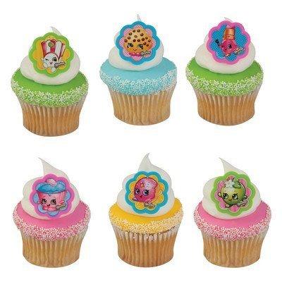Shopkins I Love Shopkins Cupcake Rings - 24 ct: Toys & Games