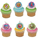 Shopkins™ I Love Shopkins™ Cupcake Rings - 24 ct