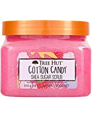 Tree Hut Cotton Candy Shea Sugar Scrub, 18oz, 2PK