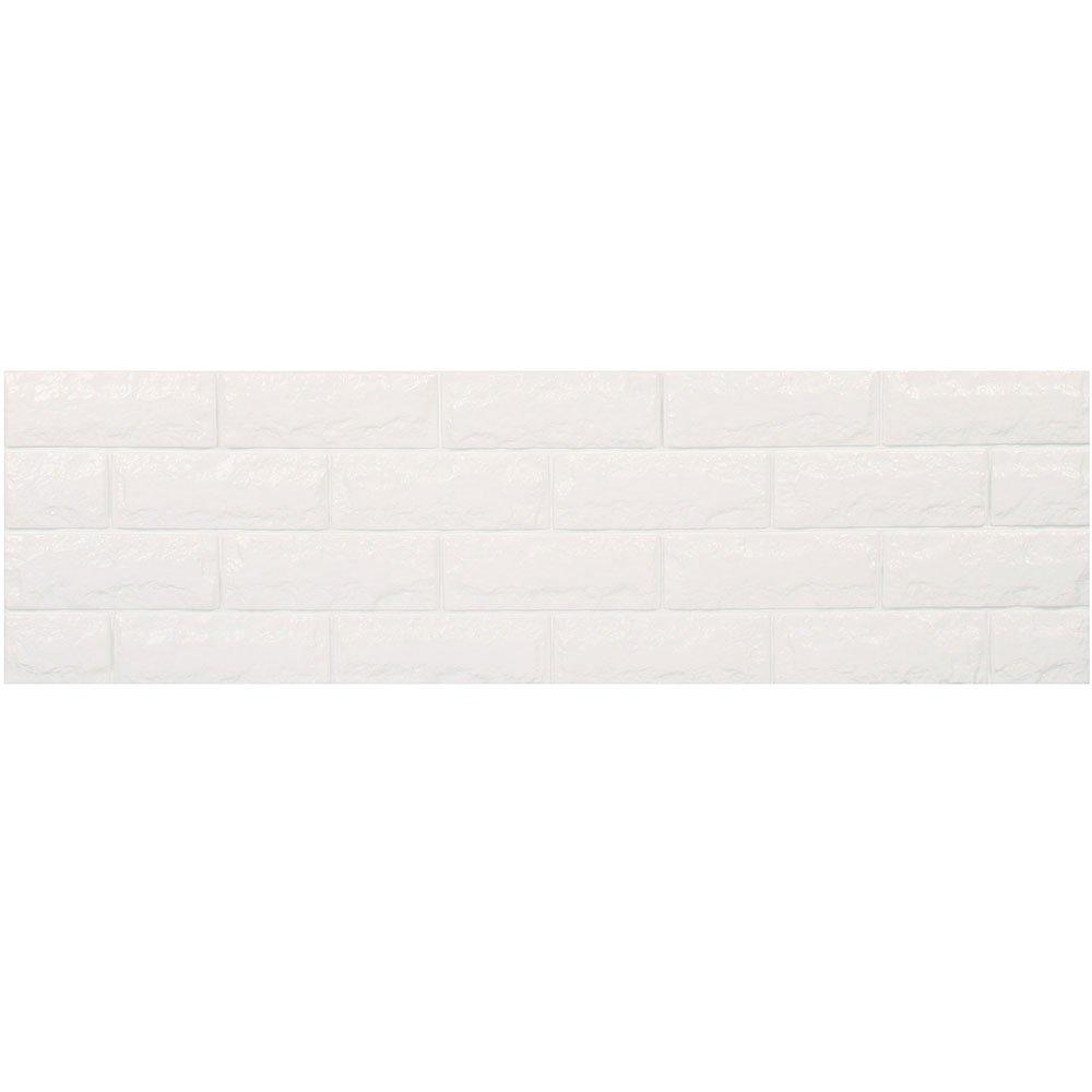 レンガ 壁紙 シール 【壁紙シールサンプル】 壁用レンガシール [ホワイト:(fb-001)] 壁紙シール アクセントクロス ウォールシール DIY 壁紙 シール レンガ タイル シート 壁用 B01GJG5P6M お試しサンプル|ホワイト:(fb-001) ホワイト:(fb-001) お試しサンプル