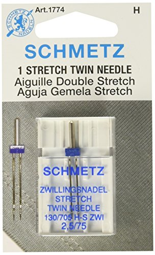 Schmetz Twin Stretch Machine Needle Size 2.5/75 1ct