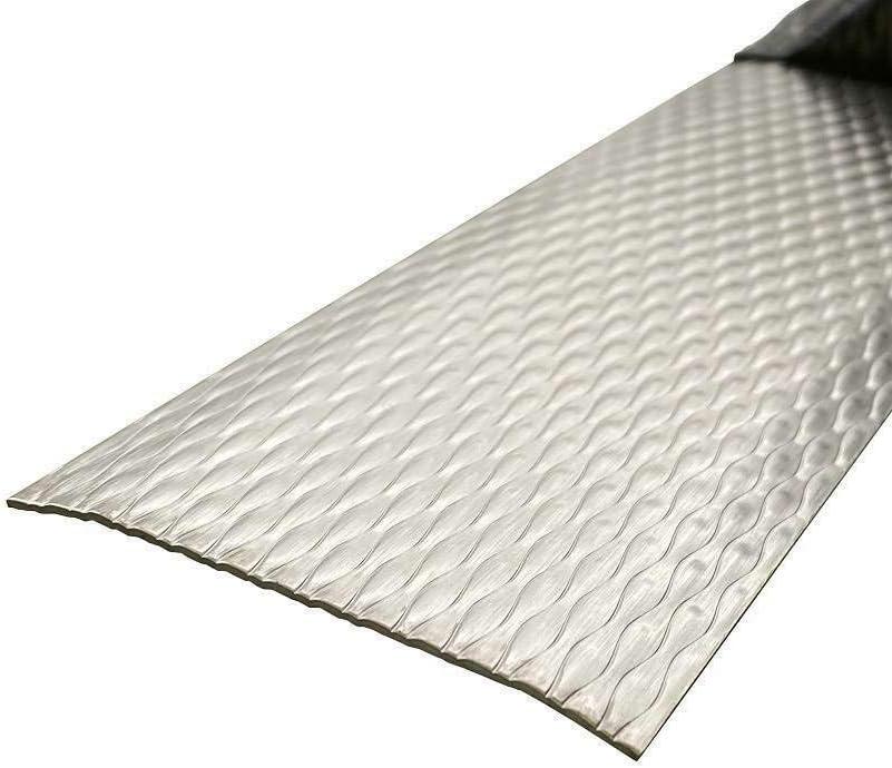 900 x 100 mm /Übergangsleiste,/Übergangsschiene 1 mm stark Edelstahl 5WL /Übergangsprofil /Übergangsprofile